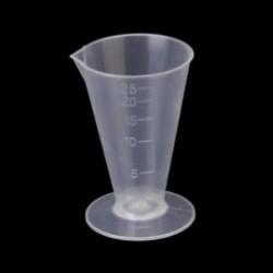 25 ml-es konyhai laboratóriumi műanyag mérőpohár, U9C9 mérőpohár