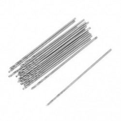20 db 0,5 mm átmérőjű egyenes szárú fém spirál csavar fúrófej R7J1
