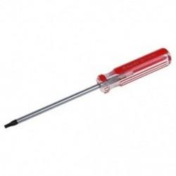 Piros átlátszó műanyag fogantyú T15 Biztonsági Torx csavarhúzó szerszám A4S1