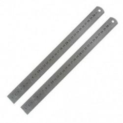 2 db metrikus 30 cm-es rozsdamentes acél egyenes vonalzó mérőszerszám 12 &quot L3Z6