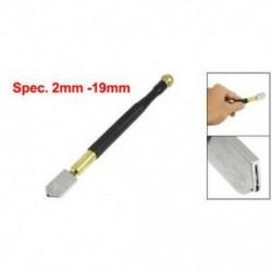 1X (fekete csúszásmentes fogantyú fém ceruza olaj adagoló 2mm-19mm üvegvágó O2Q9)