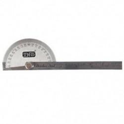1X (rozsdamentes acél szögmérő, 10 cm-es mérési vonalzó P9I7)