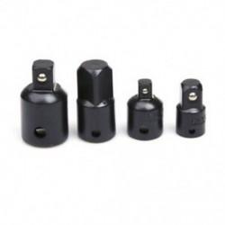 4db 1/4 3/8 1/2 racsnis aljzat csavarkulcs aljzat adapter csavarkulcs készlet átalakító R1J8