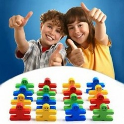 1 doboz 16 darab baba fa kreatív szülő-gyermek korai oktatási játékok e A2G9