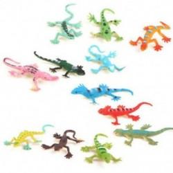 Gecko kis műanyag gyík Szimulációs valóságdekoráció Gyerekjátékok 12 D3E6
