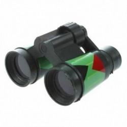 2X (SODIAL (R) ArmyGreen műanyag 10 x 30 mm-es távcső játék gyerek gyerekeknek Z2C8)