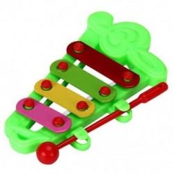 Baby Kid 4-Note Xilofon zenei játékok Bölcsességfejlesztő A2S5