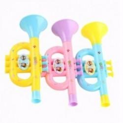 4X (Színes gyermek fújható trombita-trombita hangszer Rand Rand Q5T1 zenei játék