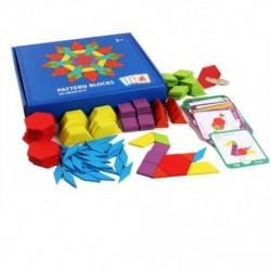 Gyerekek puzzle szett színes baba oktatás fajátékok Gyerekek L4P6