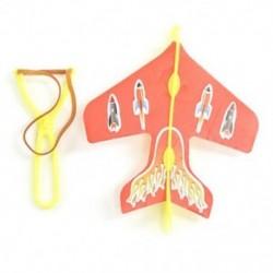 gyerek puzzle Kibocsátó katapultos repülőgépek DIY Flying Toys I3F3