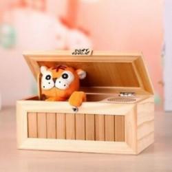 1X (új elektronikus haszontalan doboz hangos aranyos tigris játék ajándékstresszzel - Reducti K7Z6