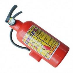 Gyerekek vörös műanyag tűzoltó készülék alakú spricc vízfegyver játék P8V6 M2N8