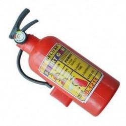 Gyerekek piros műanyag tűzoltó készülék alakú spricc vízágyú játék M8C9