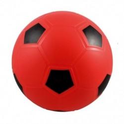 SODIAL (R) 5,5 hüvelykes felfújható, piros, piros labdarúgás foci játék gyerekeknek U4D6