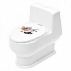 Fehér Mini Érdekes vicces WC-kagyló természetfeletti vízágyú játék a U9Z6 gyerek számára