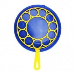 1 db Blowing Bubble Toy szappanfúvó oktató gyermekeknek kültéri születésű Q5D4