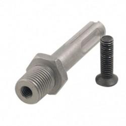 1X (2,1 tűs adapter -20 fúrótartó kerek nyílású új L8H1)