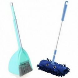 Világos zöld, kék - Gyerektisztító készlet 3 darab, gyermektakarító tisztítókészlet P7V2