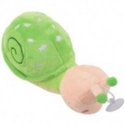 Kis csiga gyerekeknek ajándék plüss baba játék Kis csiga baba Q7Y2
