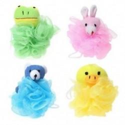 1X (Gyerekjátékszerű párnás hálós töltött állatokkal (4 csomag), kacsa, R P0X6