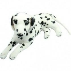 Új kedvesen töltött játékok dalmát szimulációs kutya plüss állati ajándék [játék] H8W4