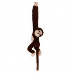 2X (Aranyos Screech gibbon majom Plüss Doll Toy Sound Gyerekek karácsonyi ajándéka R1B4