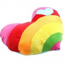 Kedves puha, kitömött plüss párna Nap Rainbow Love szívpárnajátékok C2B6