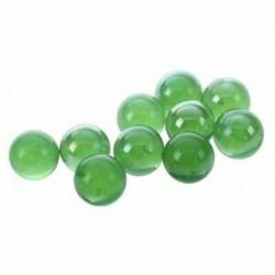1X (10 db-os gömböcskék 16 mm-es üveggömbökből) Knitter üveggömbök dekorációs színe n Q4S4