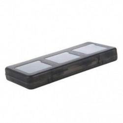 6 az 1-ben fekete játék toktartó patrondoboz Nintendo DS Lite DSi XL LL F7V5-hez