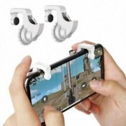 Tűzcím gomb Kiegészítő kulcsfontosságú telefonjáték Gamepad fogantyútartó markolattartó PUBG E7V6