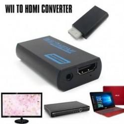 1x (3,5 mm-es audio kimeneti Jack Wii és HDMI Wii2HDMI Full HD FHD 1080P átalakító I0K2