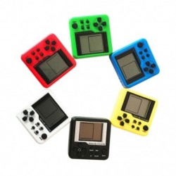 4X (Véletlenszerű konzolok Retro Mini 3D puzzle gyerekeknek Orosz Box játékkonzolY1B8