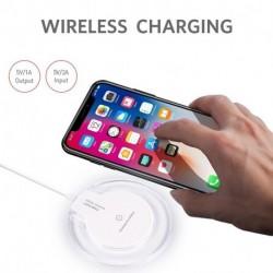 QI vezeték nélküli gyors töltő töltő dokkoló tápegység iPhone 8/8 plus / iPhone X esetén