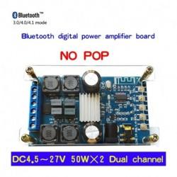 50Wx2 Bluetooth Digitális kétcsatornás hangteljesítmény-erősítő modul