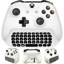 2X (Xbox One S Chatpad Mini Gaming Billentyűzet Vezeték nélküli Csevegő Üzenet KeyPad I9L3