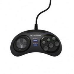 2X (Retroflag Megapi / Nespi / Superpi tok / Retropie klasszikus USB vezetékes Gamepad G S4Q1