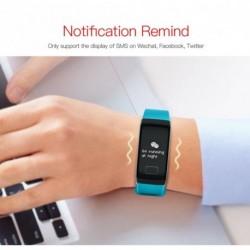 Intelligens karkötő vérnyomásmérő pulzusmérő Smart Vízálló Sport Divat Egészségügyi Tracker óra