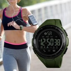 SKMEI férfi vízálló Bluetooth kalória lépésszámláló Sport digitális óra Smart karóra