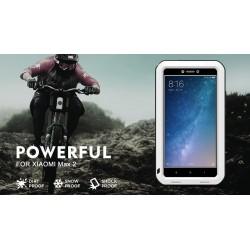 Love Mei Alumínium Fém Gorilla Üveg Ütésálló Vízálló tok XiaoMi Max 2