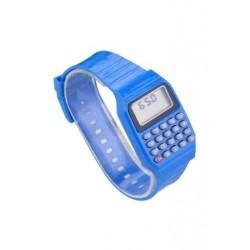 1X (Fiúk és lányok szilikon dátumkijelzővel ellátott elektronikus óra többfunkciós számológéppel, A4X2