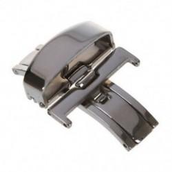 Rozsdamentes acél biztonsági összecsukható kapocs 22mm-es karóra K4S0 csiszolásához
