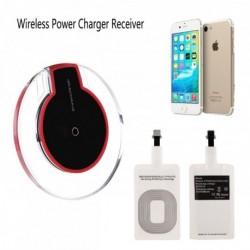 Univerzális - Vezeték nélküli QI töltőhöz vevő készlet - IPhone 5 - 5s - 6 - 6s - 7 - 7P mobiltelefonokhoz
