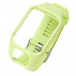 Zöld - 1 db csere karóra sáv univerzális Kényelmes, lélegző csukló szilikon K2S2