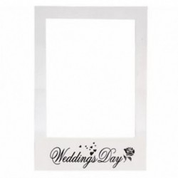 2X (Romantikus esküvői fotókeret fotó dekorációk Kreatív fotóház - W Y5N8