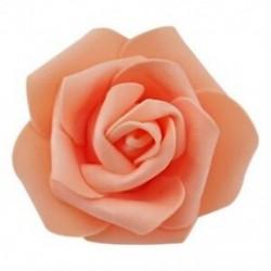 narancs - 100db / táska 6cm hab rózsafejek Művirág fejek Esküvői dekoráció TG