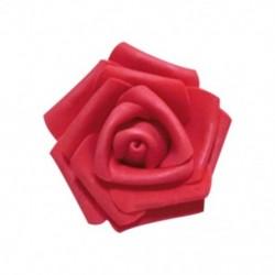 Piros - 100db / táska 6cm hab rózsafejek Művirág fejek Esküvői dekoráció TG
