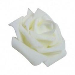 Kiváló minőségű 100db / táska 6cm hab Rose Rose fejek Művirág fejek Weddi V2I8