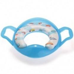 Kék edény WC-ülőkeretű WC-reduktor fogantyúval a Baby Child P1R6-hoz