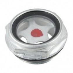 26 mm-es hímmenetű fém légkompresszor olajszintű látóüveg R1Z8
