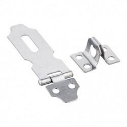 Rozsdamentes acél cserealkatrészek Lakat Hasp kapcsok, ezüst 3,8 mm / 0,15 S1L6